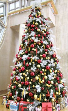 как украсить новогоднюю елку дома
