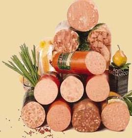 еда и колбаса