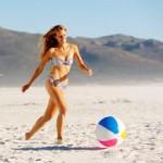 5 простых упражнений на пляже