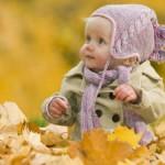 Одеваем ребенка на осеннюю прогулку