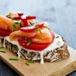 Легкий и вкусный ужин: сэндвичи со сливочным сыром
