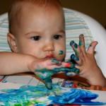 Как в домашних условиях приготовить пальчиковые краски для ребенка?