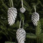 Новогодняя елка в винтажном стиле