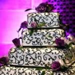 Торт для свадебной церемонии