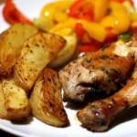 Приготовим легенький салат и запеченную курочку «Мужу на ужин»