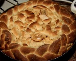 делаем красивый пирог