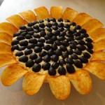 Вкусное солнышко или салат «Подсолнух»