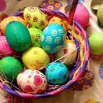 Окрашивание пасхальных яиц: несколько способов