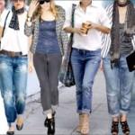 С чем правильно сочетать рваные джинсы