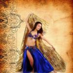 Занятие восточными танцами