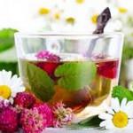 Горячие напитки: подача чая