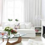 Белый цвет в дизайне помещений
