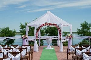 выездная свадебная церемония фото