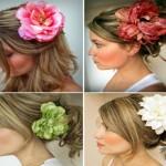 Цветы для красивых и сильных волос
